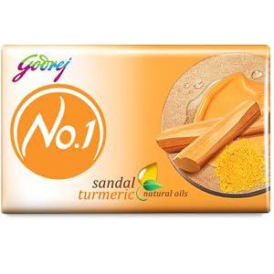 Godrej No.1 Bathing Soap - Sandal & Turmeric