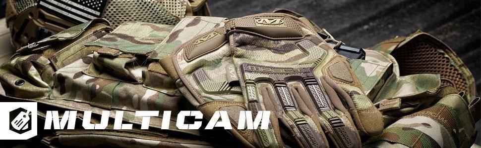 Mechanix Wear M-Pact Multicam Guantes X-Grande, Camuflaje