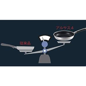 アルサス4 【3KW IH対応・日本製】 フライパン