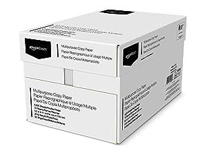 Amazon Basics multipurpose copy paper, 8.5 x 11-inch letter size