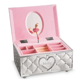 Amazoncom Lenox Childhood Memories Ballerina Jewelry Box Home