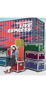 【Amazon.co.jp限定】NANA MIZUKI LIVE EXPRESS(Blu-ray)(オリジナル・缶バッチ(ロゴ)&デカジャケ+メーカー特典:B2告知ポスター付き)
