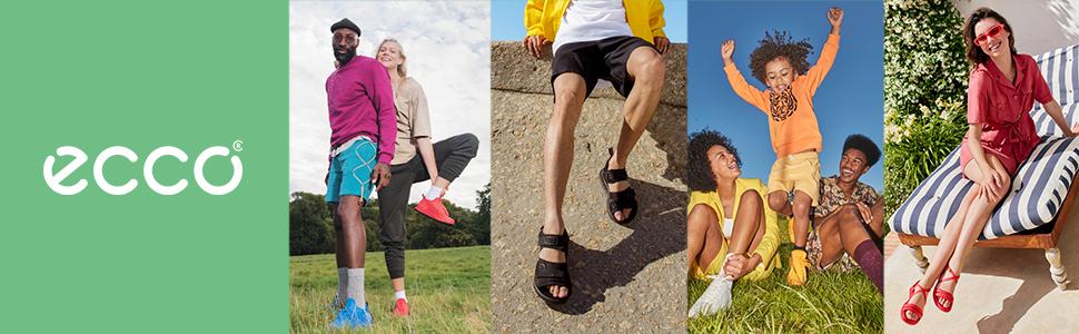 Ecco - Scarpe da ginnastica per uomo, donna, bambino