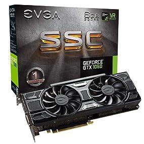 1835 MHz EVGA GeForce GTX 1060 SSC GAMING ACX 3.0 GeForce GTX 1060 6GB GDDR5 schede grafiche 7680 x 4320 pixel 7680 x 4320 pixel 1607 MHz NVIDIA GeForce GTX 1060