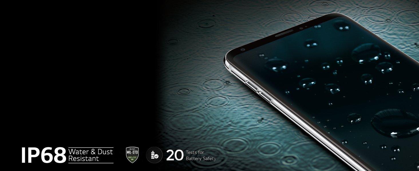 Lg V30 Black 4gb Ram 128gb Storage Electronics Norton Tempered Glass Xiaomi Mi 4s 50ampquot Sturdy And Seamless