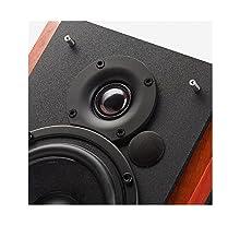 EDIFIER Studio R1700BT – Sistema de altavoces 2.0 (66 Vatios) con Bluetooth y mando a distancia, color marrón
