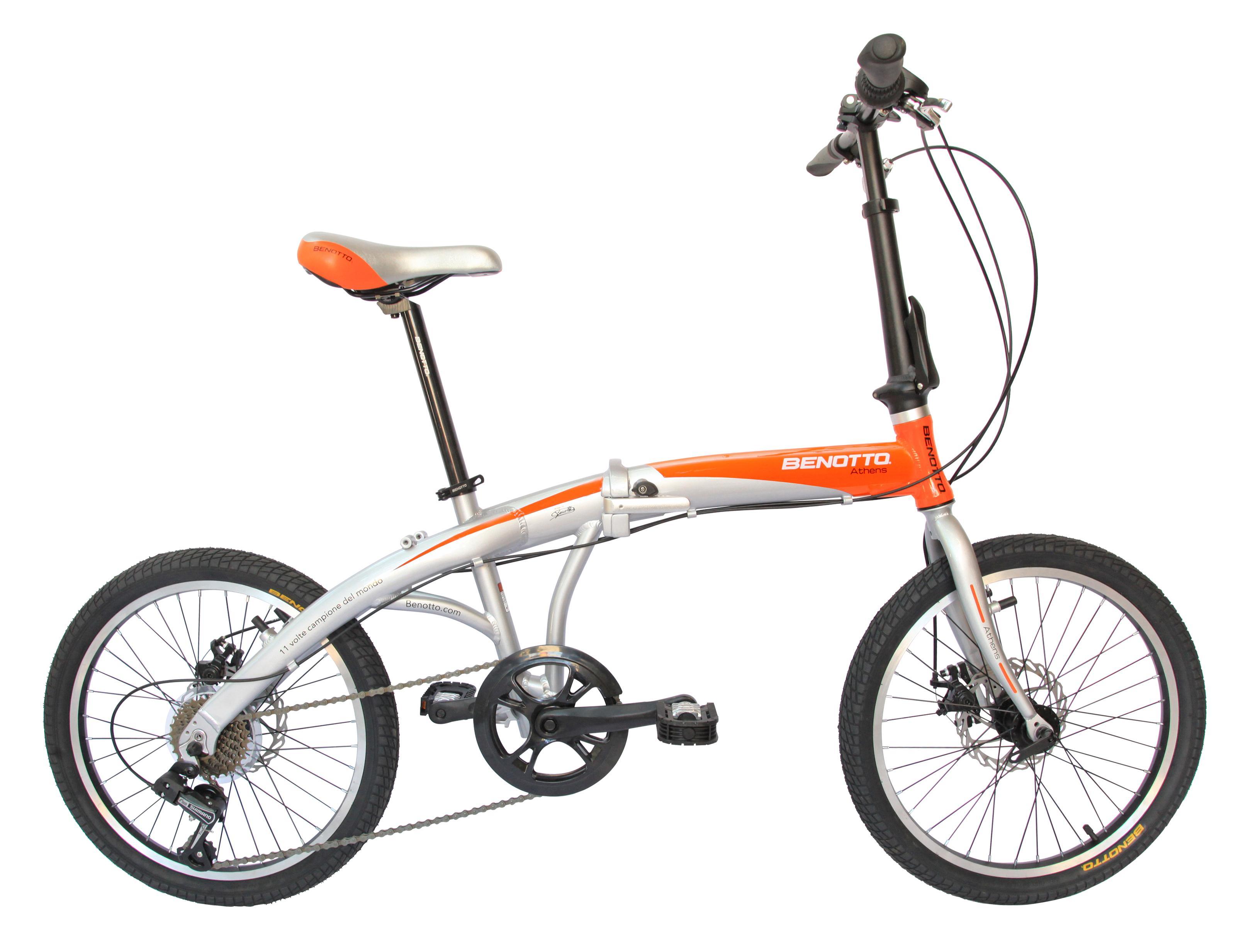 Benotto OPEATH2007UNPL Bicicleta Plegable de Aluminio Rodada R20 ...
