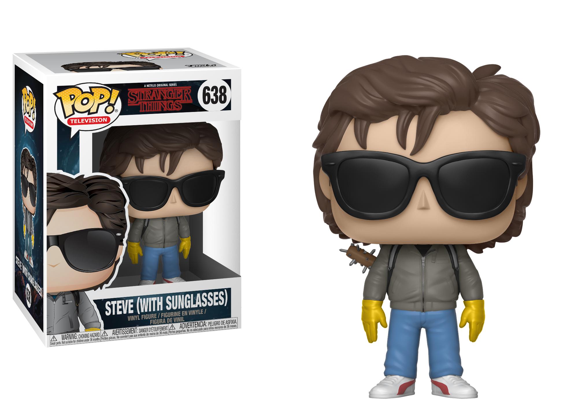 423baac82d Amazon.com  Funko POP! TV  Strangers Things - Steve with Sunglasses ...