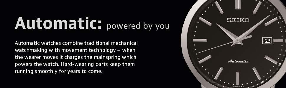 Powered by movement, fine watchmaking,