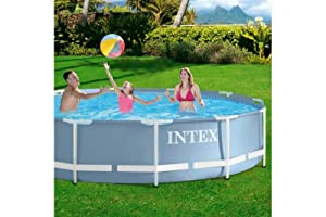 Intex Piscina desmontable y depuradora, 366 x 76 cm, 6.503 l