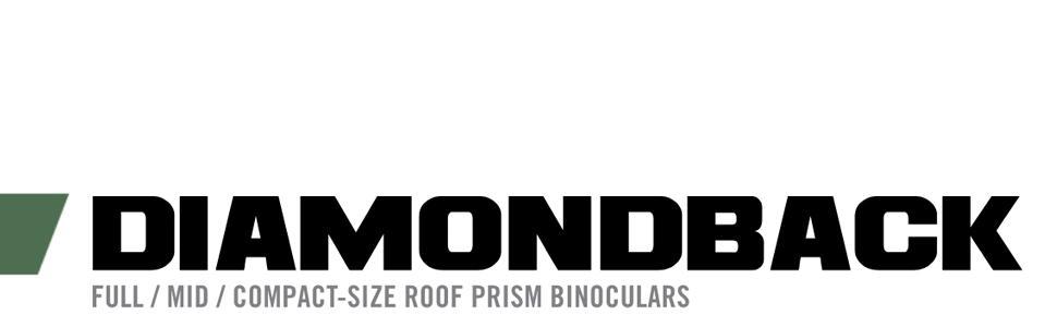 Verdes 12 x 50 cm Prism/áticos Vortex Optics Diamondback 12 x 50