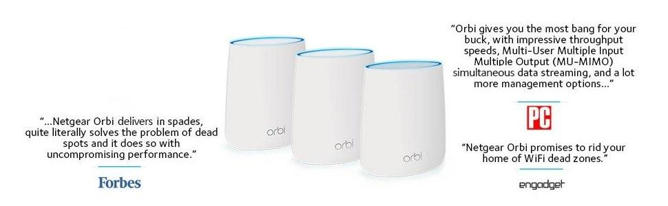NETGEAR RBK23 Orbi Whole Home Mesh Wi-Fi System - to replace my Virgin  Media Super Hub router and Netgear wi-fi extender combination
