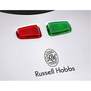 Russell Hobbs 2 Slice Sandwich Maker Sandwich Toaster, Silver