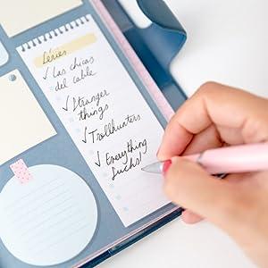 Mr. Wonderful - Agenda anual pequeña clásica 2019 diaria - Cosas que prometo terminar