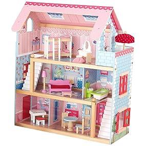 Wonderful KidKraft Chelsea Doll Cottage With Furniture