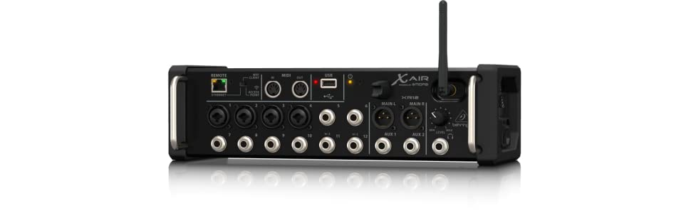 Behringer x air xr12 12 input digital mixer amazon musical from the manufacturer fandeluxe Image collections
