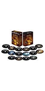 ハリー・ポッター 8フィルムコレクション<4K ULTRA HD&ブルーレイセット>(16枚組) [Blu-ray]