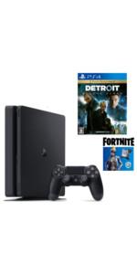 【プライムデー販売】PlayStation4 フォートナイト ネオヴァーサバンドル + Detroit: Become Human セット