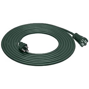 AmazonBasics 16/3 Vinyl Outdoor Extension Cord