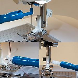Dritz Sewing Machine Needle Inserter /& Threader #253