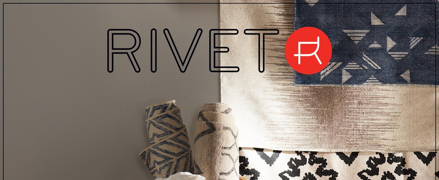 Rivet, home furnishings, small space, studio, apartment, rug, area rug