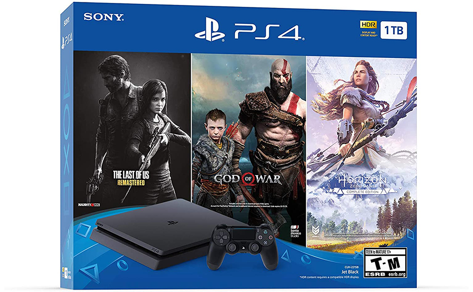 Sony Playstation 4 Console with Bundle