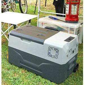 サンコー バッテリー内蔵 30L ひえひえ冷蔵冷凍庫 CLBOX30L