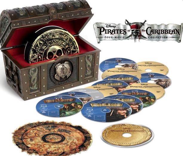 Amazon.com: Pirates of the Caribbean: Four-Movie