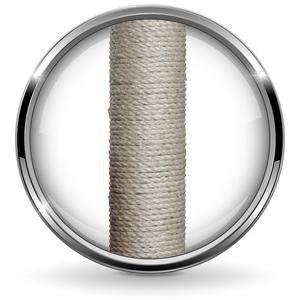 dibea-albero-tiragraffi-grigio-chiaro-80-cm