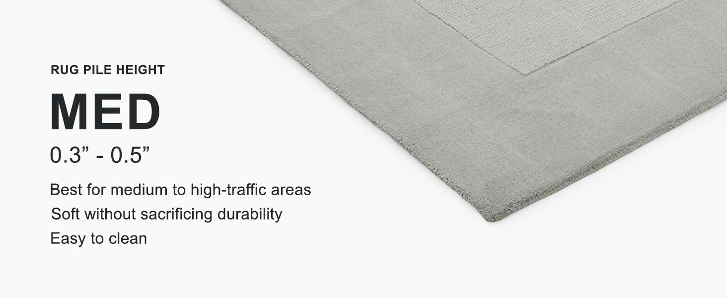 Rivet Geometric Criss Cross Woven Wool Area Rug 8 X 10 Foot Cream