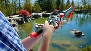 Rocket fishing rod ready to fish kids for The rocket fishing rod