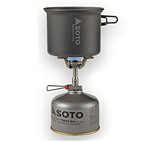 ソト(SOTO)アルミクッカーセットM SOD-510 使用イメージ