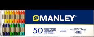 Manley MNC00088 - Ceras, 50 unidades: Amazon.es: Oficina y papelería