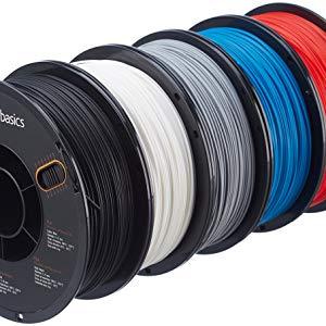 AmazonBasics – Filamento de ABS para impresora 3D, 1,75 mm ...