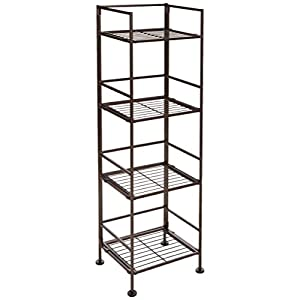 AmazonBasics 4-Tier Iron Tower Shelf