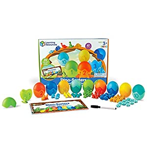 Learning Resources Dino-Sorters Activity Kit