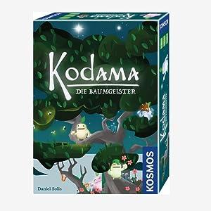 Mitbringspiel Kodama Die Baumgeister Legespiel mit einfachen Regeln in bezaubernder Japan-Optik KOSMOS 692933