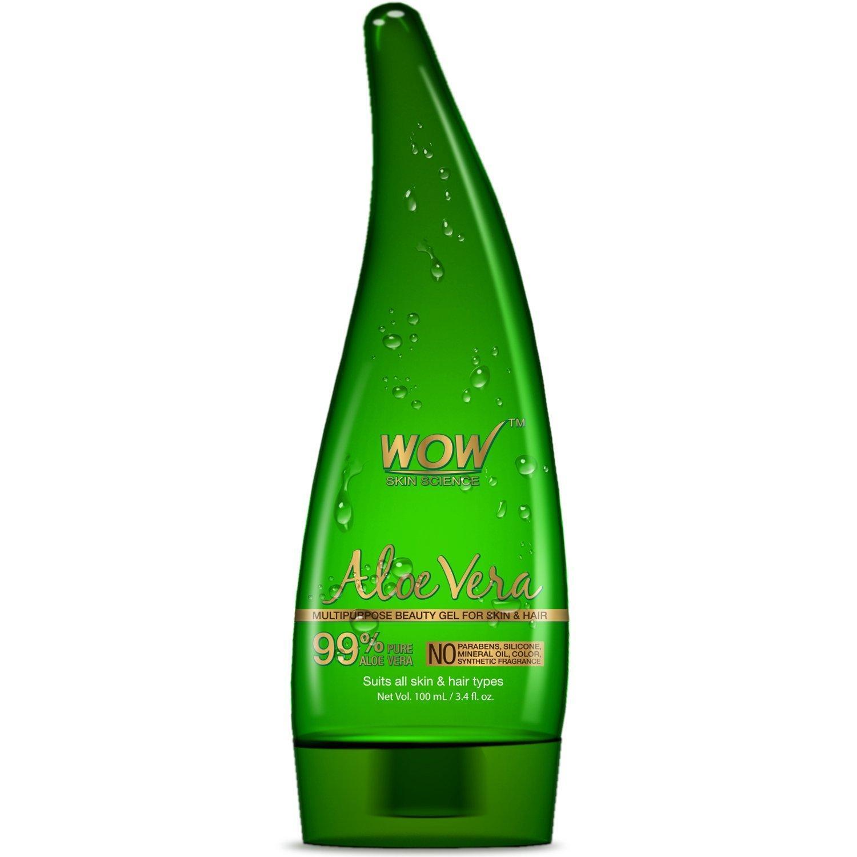 Buy Wow Aloe Vera Multipurpose Beauty Gel For Skin And