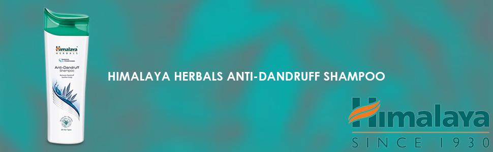 Himalaya Herbals Anti-Dandruff Shampoo Removers Dandruff Soothes Scalp