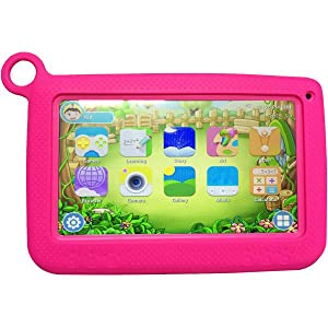 Wintouch K72 Kid Tablet - 7 Inch, 8GB, 512MB RAM, Wi-Fi, Pink