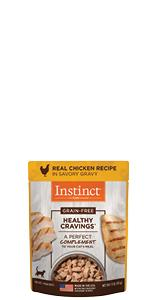 instinct, wet cat food, canned cat food, cat food topper, toppers, gravy, grain free, natural