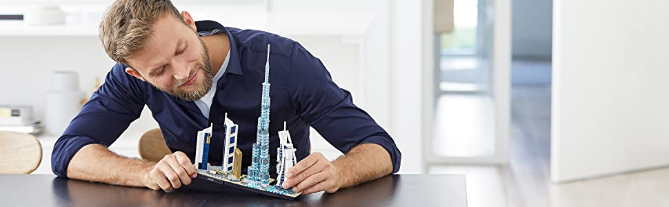 LEGO 21052 Architecture Dubai Model
