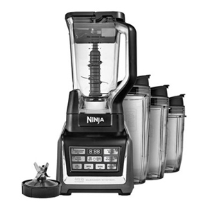 Nutri Ninja BL 642 Blender Duo with Auto-iQ, Black/Gray