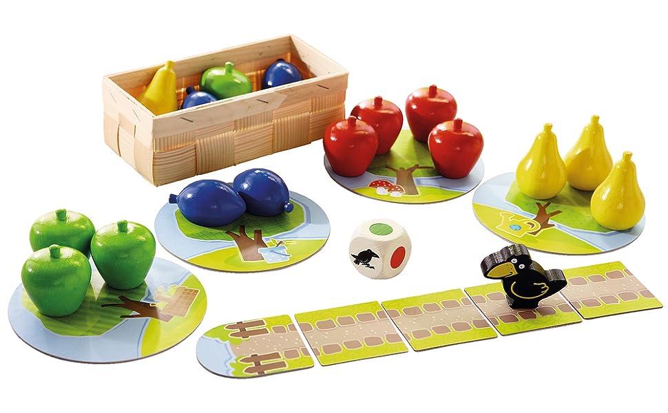 HABA Juegos Primer frutal (4997): Amazon.es: Juguetes y juegos