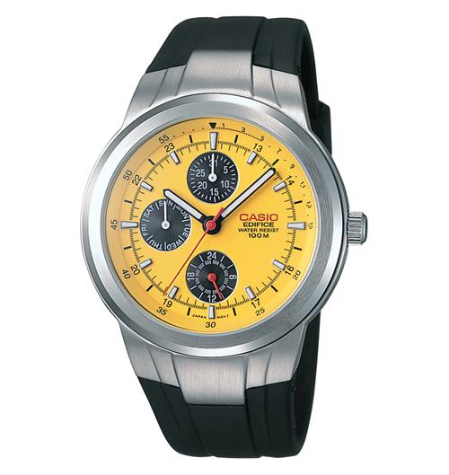 b1d65f592c61 Casio para hombre EF305 – 1 AV Edifice multifunción reloj con correa de  resina negra EAW-EF-305-1AV para Navidad