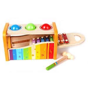 Different ways of playing: Fetch balls or pound them to the xylophone making some music