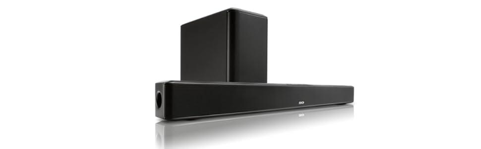 Denon DHT-S514 - Barra de sonido Bluetooth 2 vías, color negro