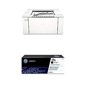 HP Color LaserJet Pro M102w-G3Q34A Wireless/Print/Scan/Copy/Fax Multi Functional Printer-White