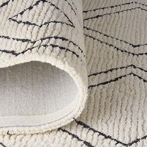 Amazon Com Rivet Diamond Trellis Tassel Wool Rug 7 6 Quot X