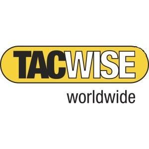 TACWISE 1153 Grapadora Combi para Cables de 4.5 mm y de 6 mm de diámetro, plateado, Único